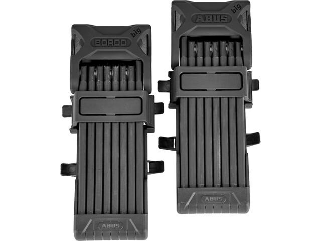 ABUS Bordo Big 6000/120 SH Twinset Candado Plegable, negro